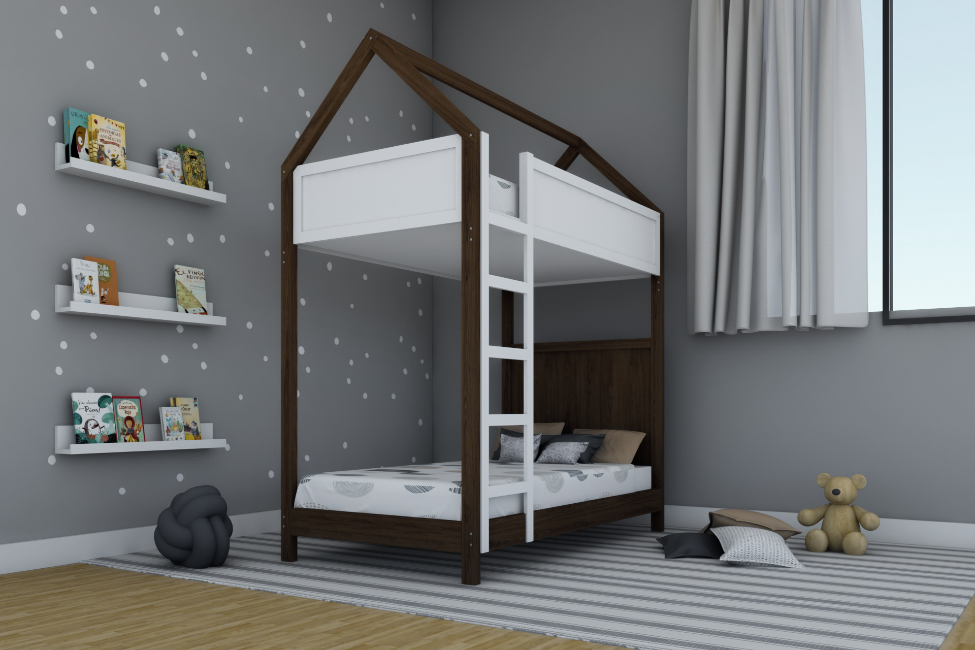 Casita Litera Toddler 4