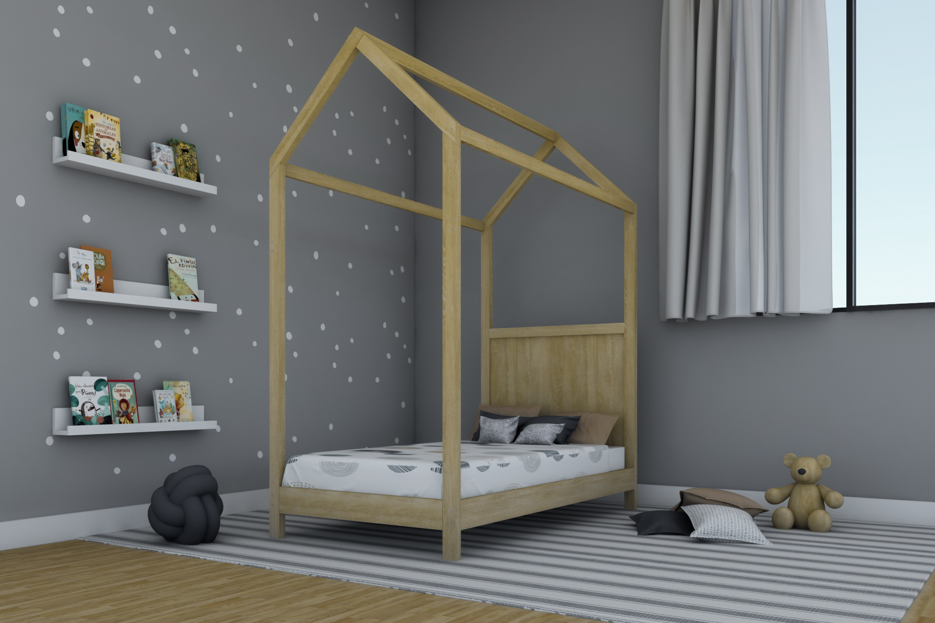 Cama Casita Jr Maple